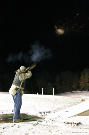 Skeet under the lights
